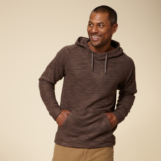 Royal Robbins - SPACE DYED FLEECE HOODIE - RELAXED FIT