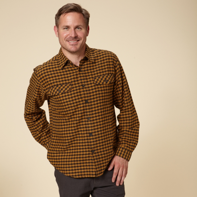 Royal Robbins - CHECK FLANNEL L/S - REGULAR FIT