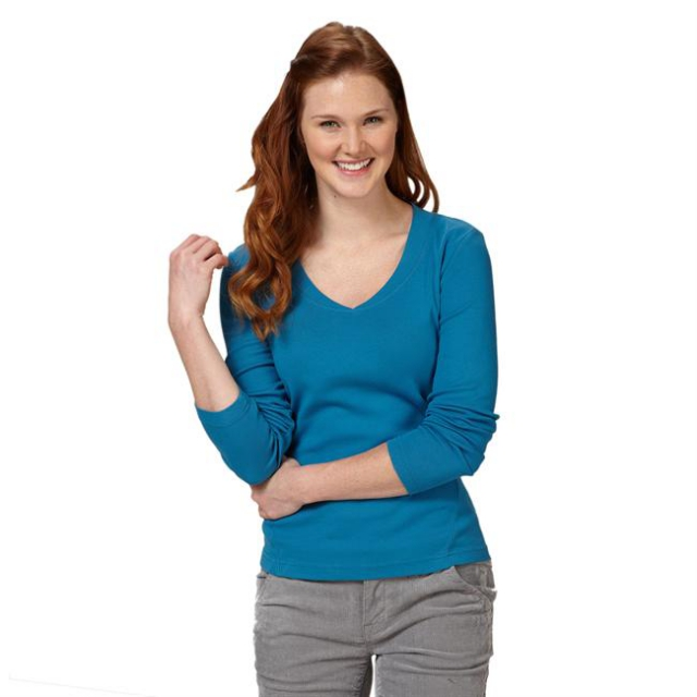 Royal Robbins - Women's Kick Back V-Neck Long Sleeve
