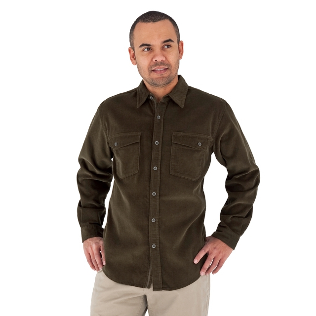Royal Robbins - - Coloma Cord Mens Shirt - Small - Timber
