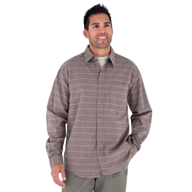 Royal Robbins - - Banks Island Plaid Mens - Small - Khaki