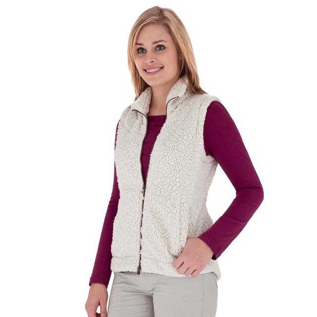 Royal Robbins - - Snow Wonder Vest Womens - Small - Creme