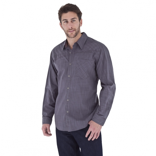 Royal Robbins - - Dylan L/S - Small - Dark Shadow Blue