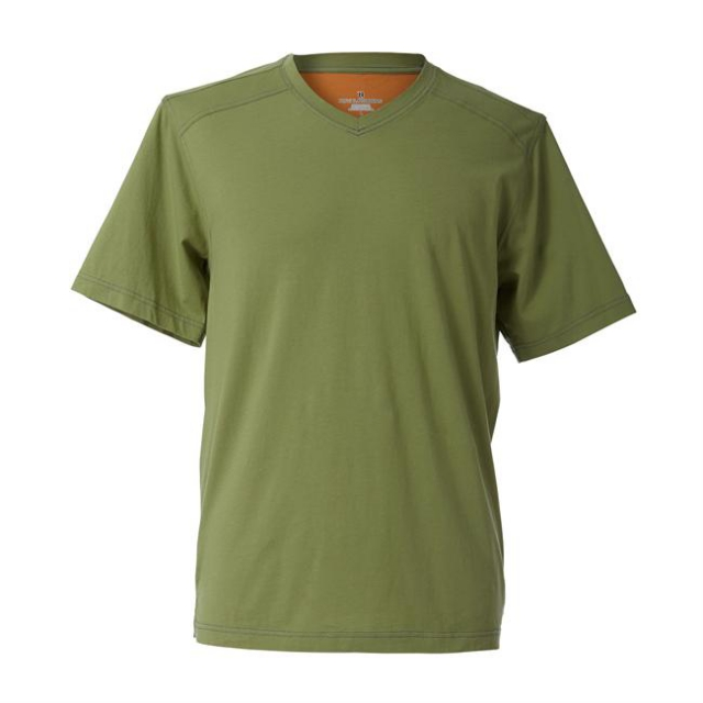 Royal Robbins - Men's Organic Jersey V-Neck Short Sleeve