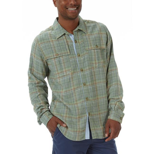 Royal Robbins - Men's Bayside Blend Plaid Long Sleeve