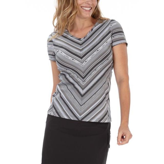 Royal Robbins - Women's Impulse Stripe Tee Short Sleeve