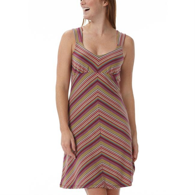 Royal Robbins - Women's Essential Tencel Stripe Tank Dress