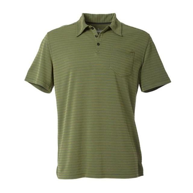 Royal Robbins - Men's Desert Knit Pique Stripe Cricket Short Sleeve