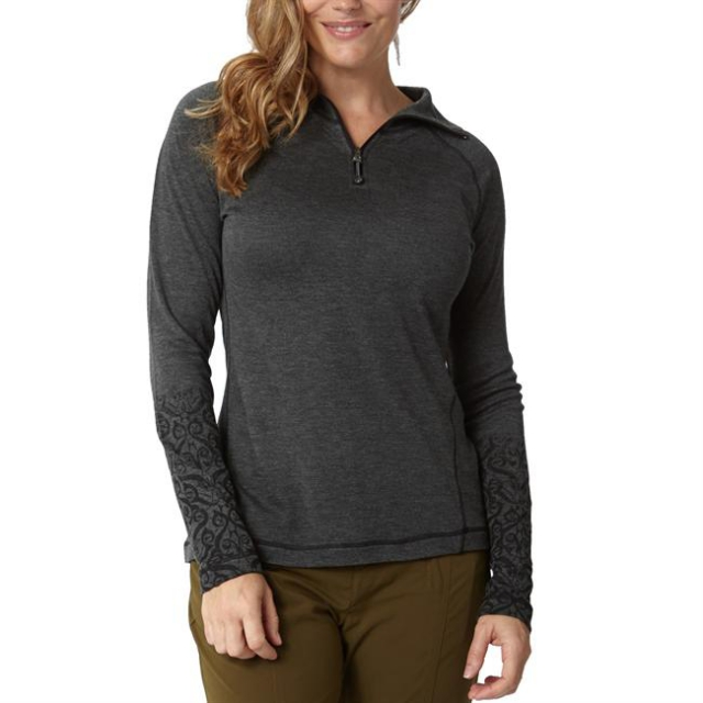Royal Robbins - Women's Mission Knit 1/4 Zip Long Sleeve