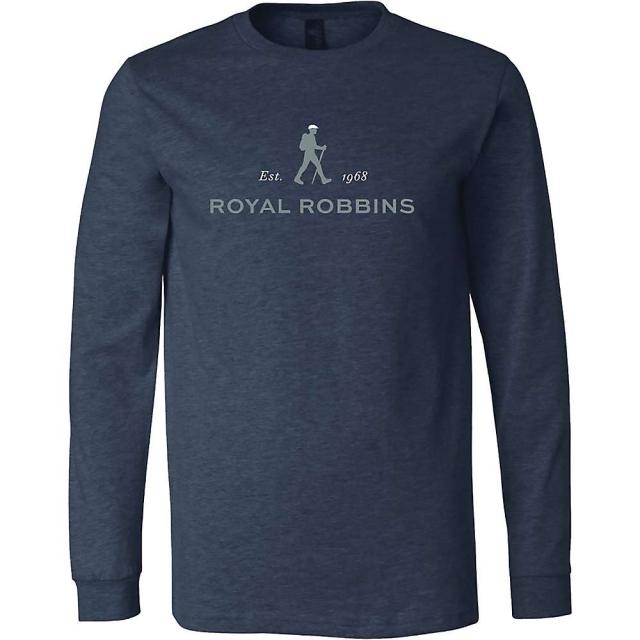 Royal Robbins - Men's  Logo Crew Long Sleeve