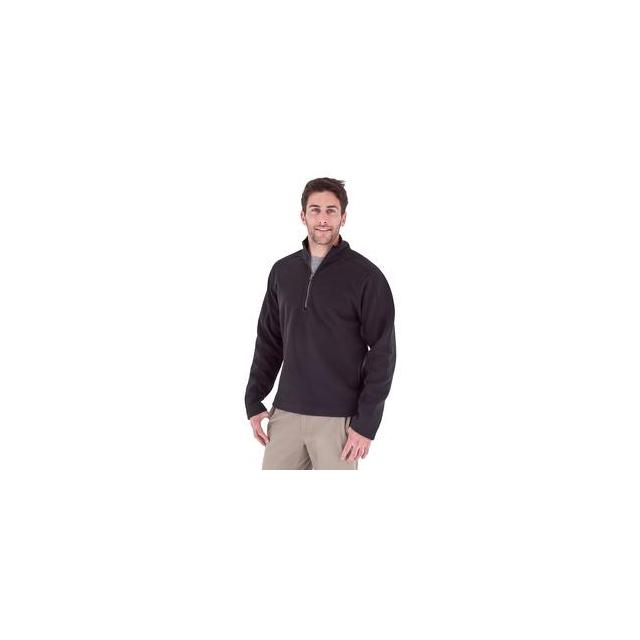 Royal Robbins - Gunnison 1/4-Zip Fleece Top Men's, Jet Black, M