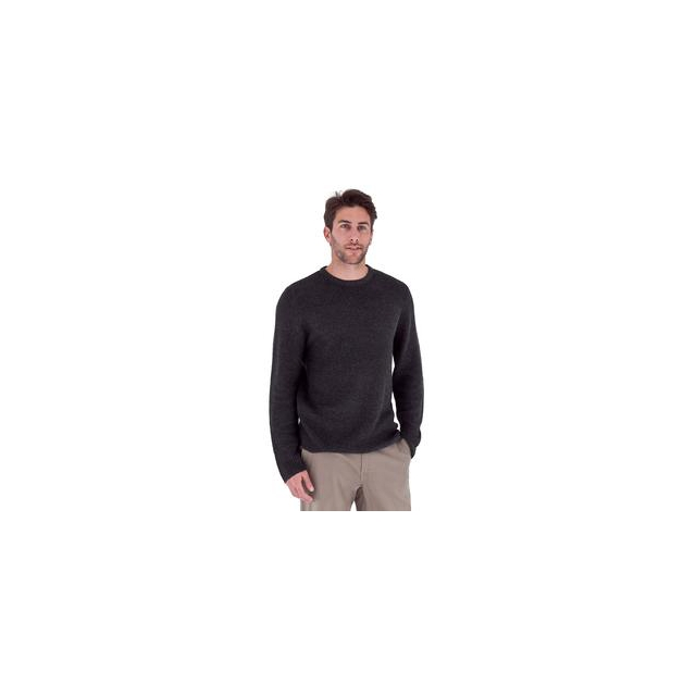 Royal Robbins - Siskiyou Crew Sweater Men's, Obsidian, L