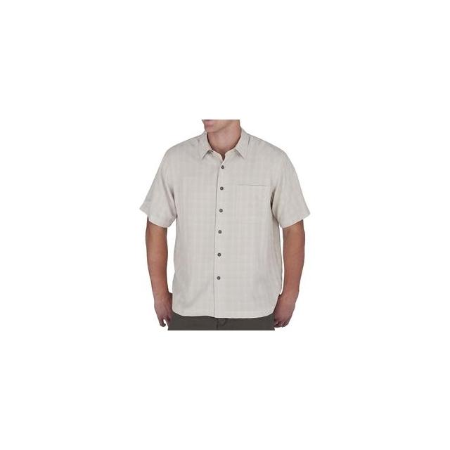 Royal Robbins - San Juan Short Sleeve Shirt Men's, Sand, M