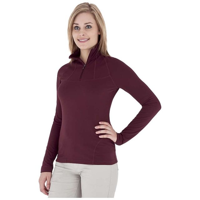 Royal Robbins - Women's Mountain Velvet 1/4 Zip Top