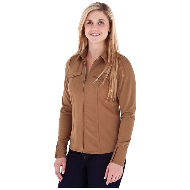 Royal Robbins - Women's Ponte Zip Shirt