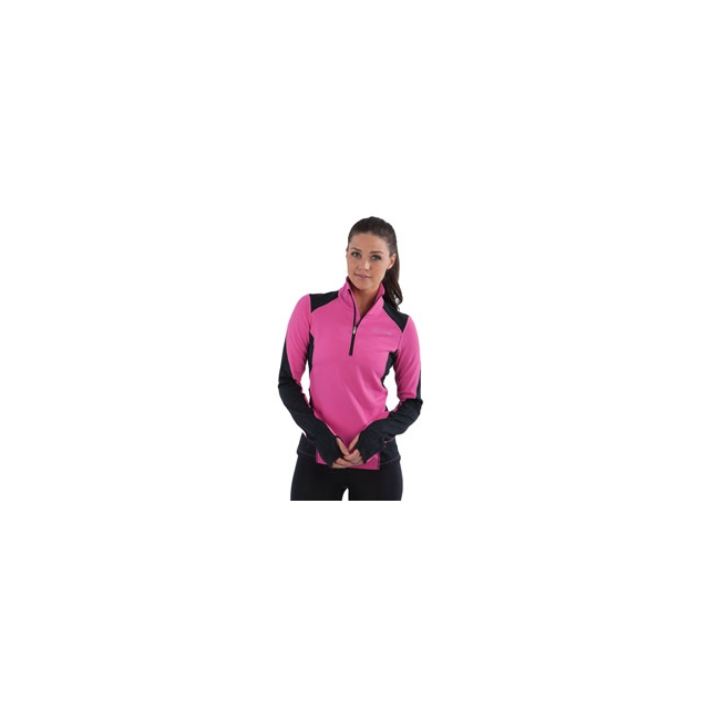 Pearl Izumi - Fly Thermal Run Top - Women's - Raspberry Rose In Size: Large