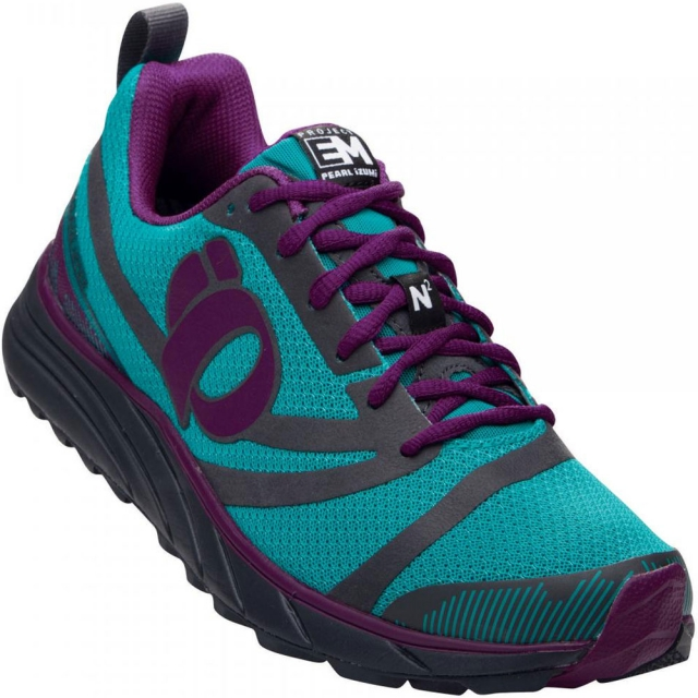Pearl Izumi - EM Trail N2 Shoe Womens - Deep Peacock/Grey 8