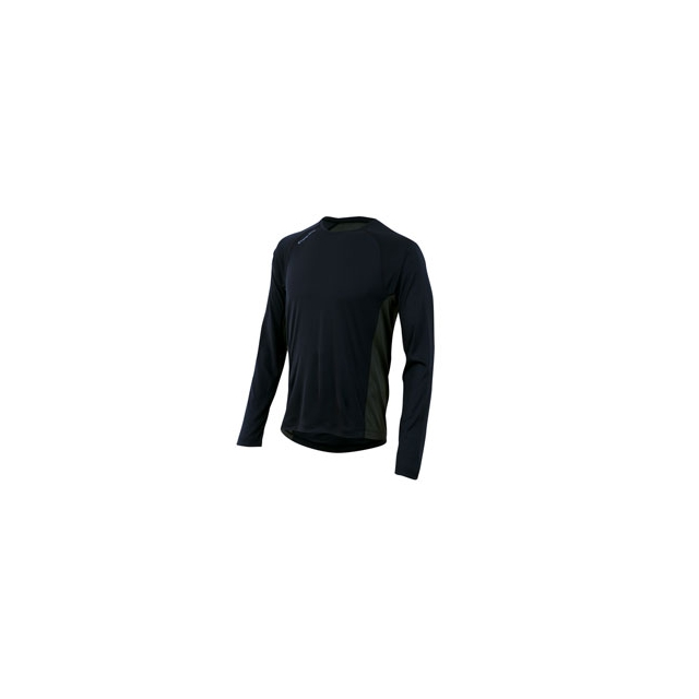 Pearl Izumi - Flash Long Sleeve Run Top - Men's - Black/Shadow Grey In Size: Medium
