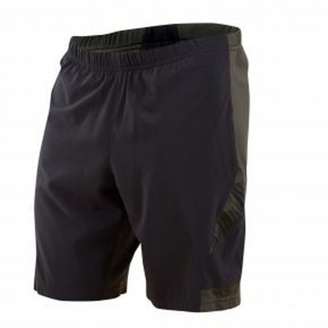 Pearl Izumi - - Flash 2 in 1 Short Mens - Small - Black/Shadow Grey
