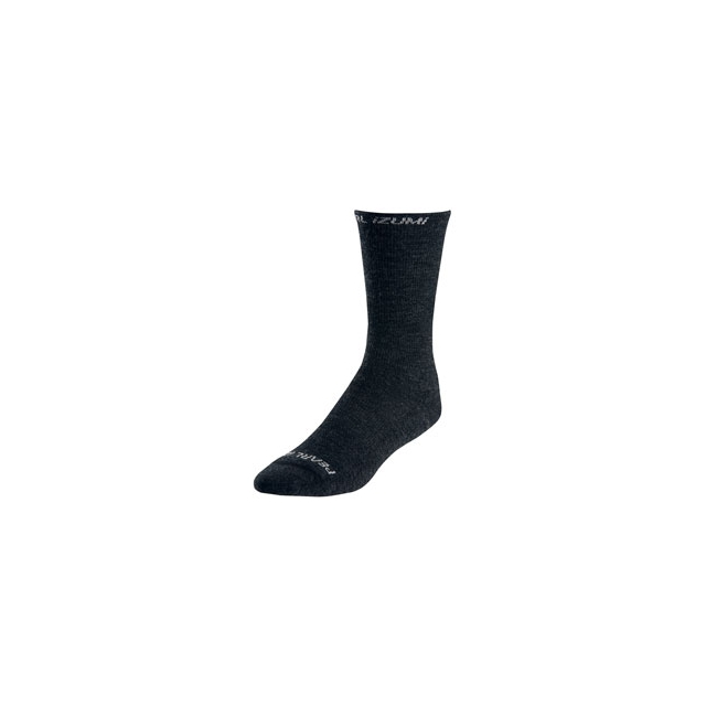 Pearl Izumi - ELITE Thermal Wool Cycling Sock - Black In Size