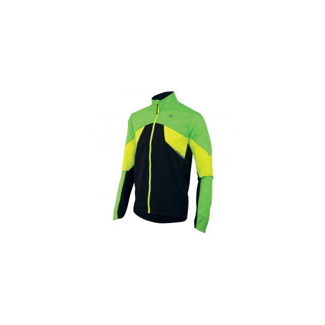 Pearl Izumi - - Fly Jacket - medium - Screaming Green/ Screaming Yellow