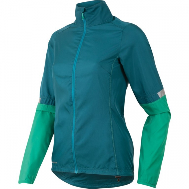 Pearl Izumi - - W Fly Jacket - small - Deep Lake/Gumdrop