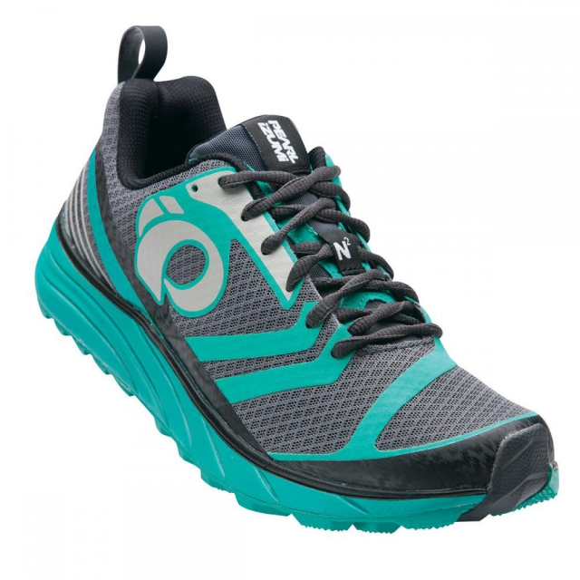 Pearl Izumi - - Wmns EM Trail N2 - 7 - Shadow Grey/Dynasty Green