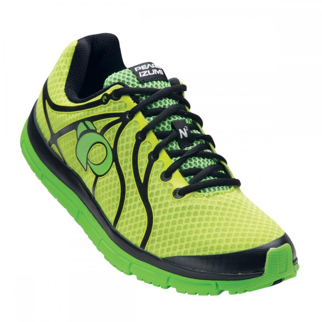 Pearl Izumi - - Mens EM Road N2 - 8.5 - Lime Punch/Screaming Green