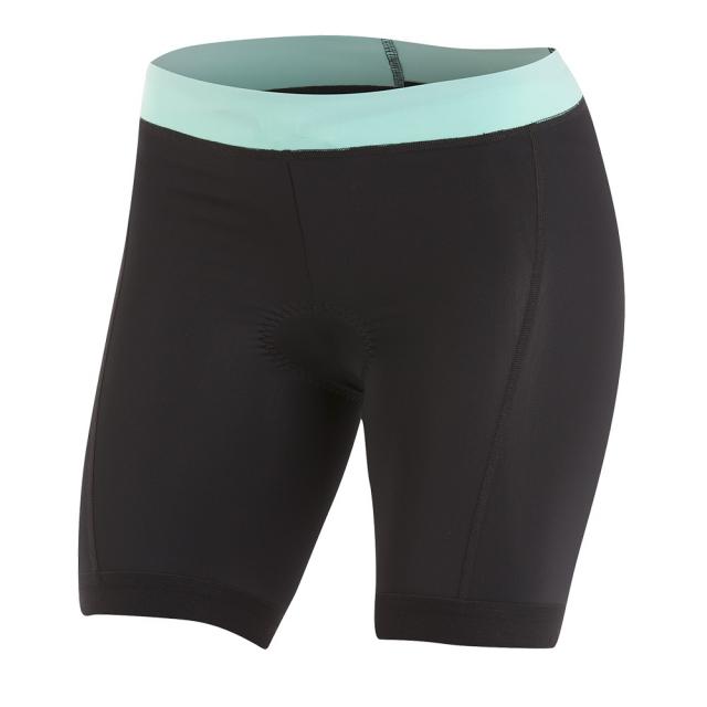 Pearl Izumi - - W SelectPursuit Tri Short - x-small - Black/Aqua Mint