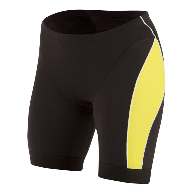 Pearl Izumi - - Elite Pursuit Tri Short - x-large - Black/Lime Punch