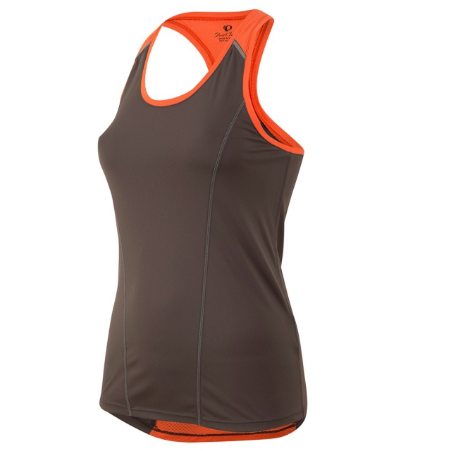 Pearl Izumi - Pear Izumi - W Pursuit Singlet - x-small - Shadow Grey/Clementine