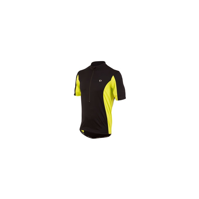 Pearl Izumi - Quest Tour Cycling Jersey - Men's - Black/Lime Punch In Size: Extra Large