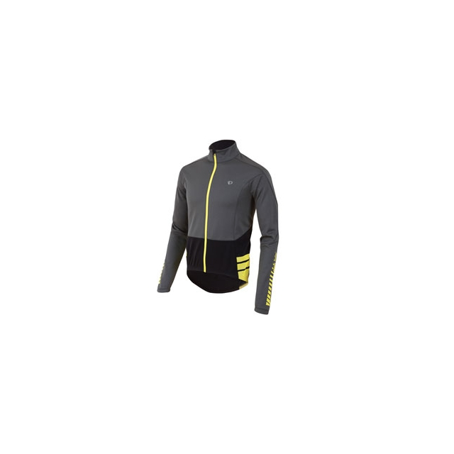 Pearl Izumi - Elite Thermal Long Sleeve Jersey - Men's - Shadow Grey/Black In Size: Large