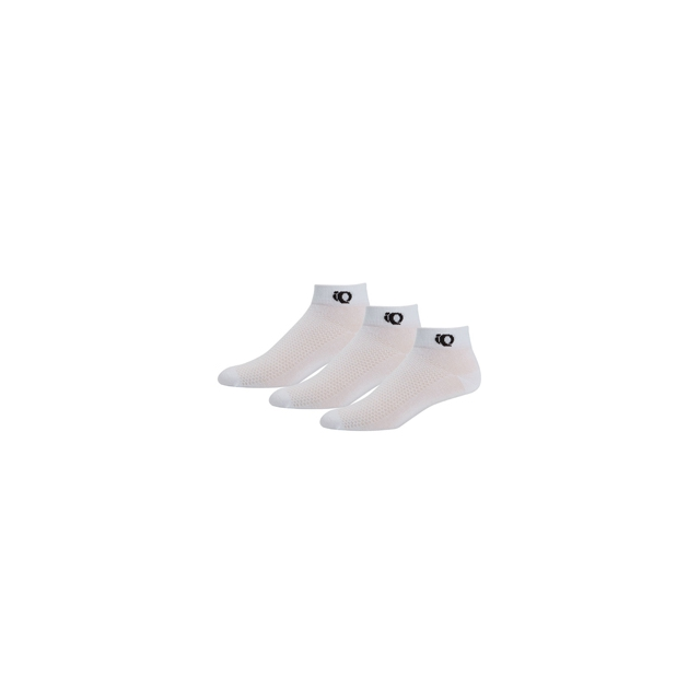 Pearl Izumi - Attack 3 pack Low Sock - White In Size: Extra Large