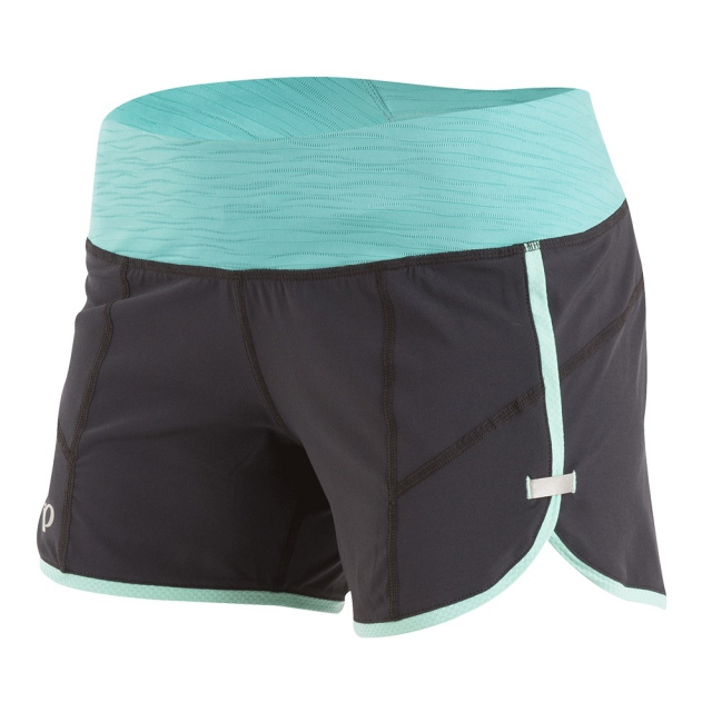 Pearl Izumi - Pear Izumi - W Pursuit 4.5 Short - x-small - Black/Aqua Mint