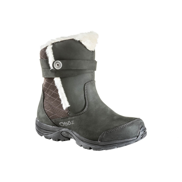 Oboz - - Madison Insulated Bdry - 8.5 - Raven
