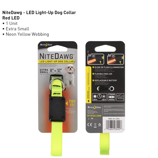 Nite Ize - Nite Dawg LED Dog Collar