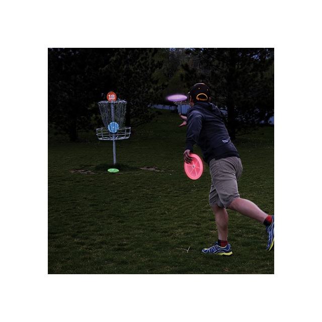 Nite Ize - Flashflight LED Disc Golf Set - Disc-O Select