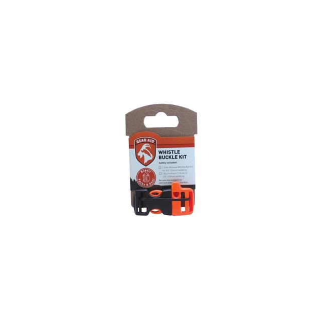 "McNett - Gear Aid Sternum Whistle 3/4"" Buckle - Orange"