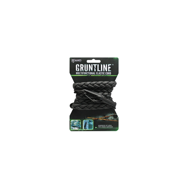 McNett - Tactical Gruntline Deluxe Multifunctional Elastic Cord - Black