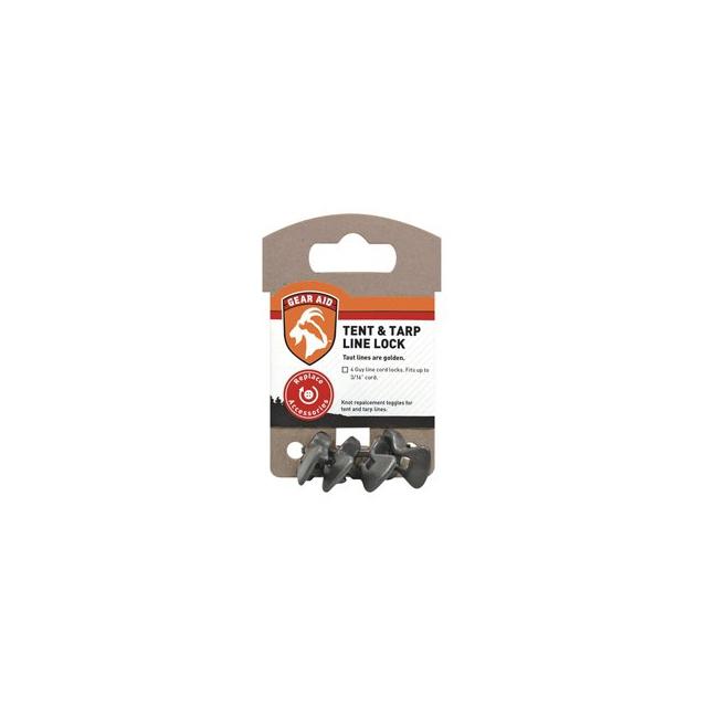 McNett - Gear Aid Tent & Tarp Line Lock 4pk - Black