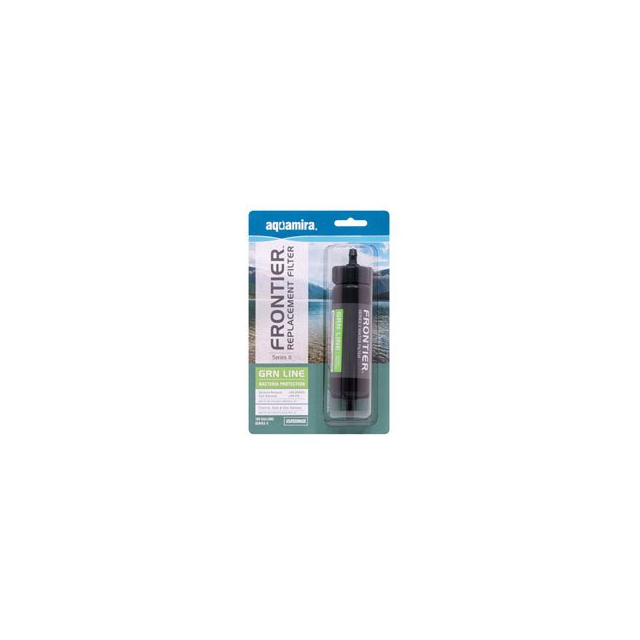 McNett - Aquamira Frontier Bottle Filter 100 - Green - Green