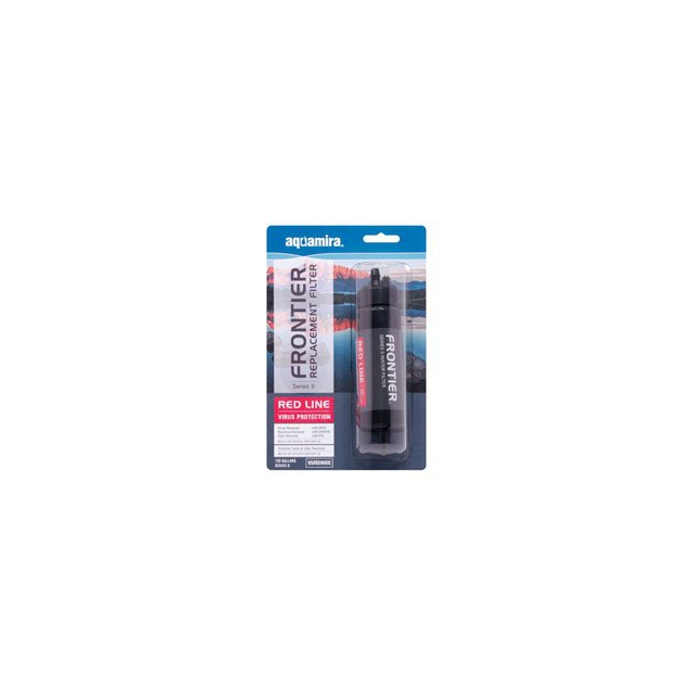 McNett - Aquamira Frontier Bottle Filter 120 - Red - Red