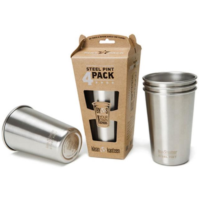 Klean Kanteen - Kleen Kanteen Stainless Steel Pint Cup 4-Pack