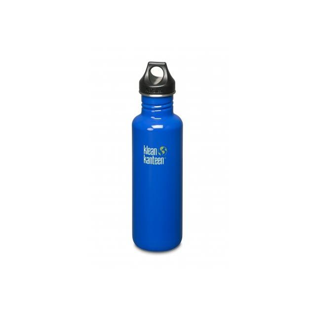 Klean Kanteen - Classic Stainless 27 oz. Steel Water Bottle Loop Top