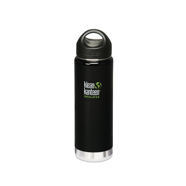 Klean Kanteen - Wide Insulated Bottle - 20 oz.: Black Eclipse