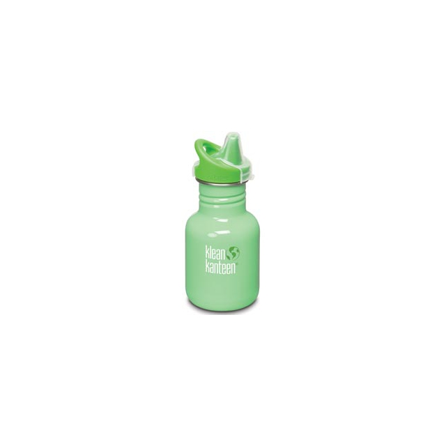 Klean Kanteen - 12 oz. Kid Kanteen Classic Sippy Bottle - Dew Drop