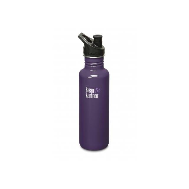 Klean Kanteen - Classic 27 oz. Stainless Steel Water Bottle Sport Top