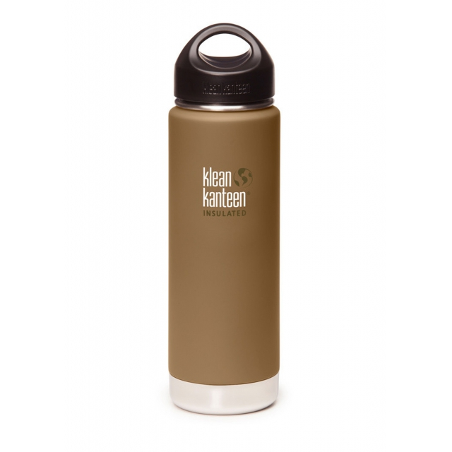 Klean Kanteen - - KANTEEN WIDE INSULATED (20) - 20 - Coyote Brown