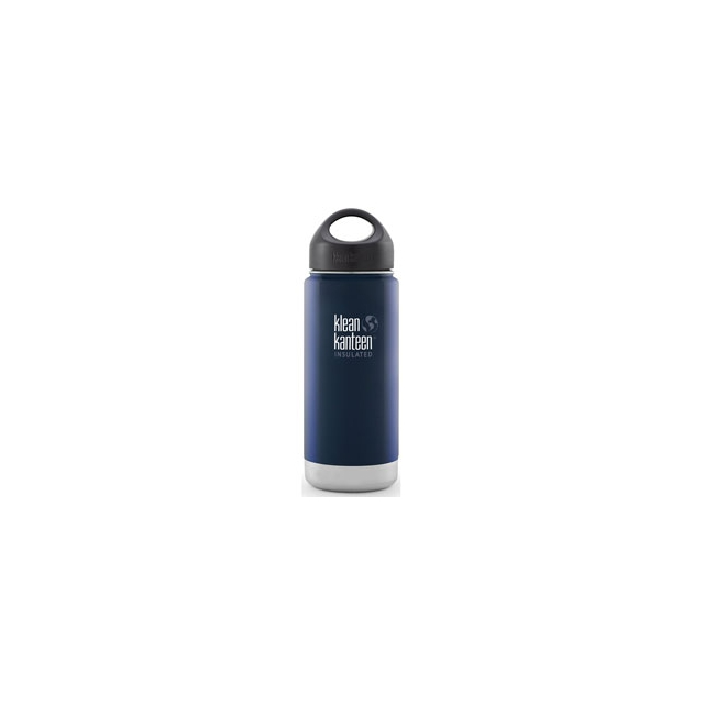Klean Kanteen - 16 oz Wide Insulated Loop Cap Bottle - Deep Sea